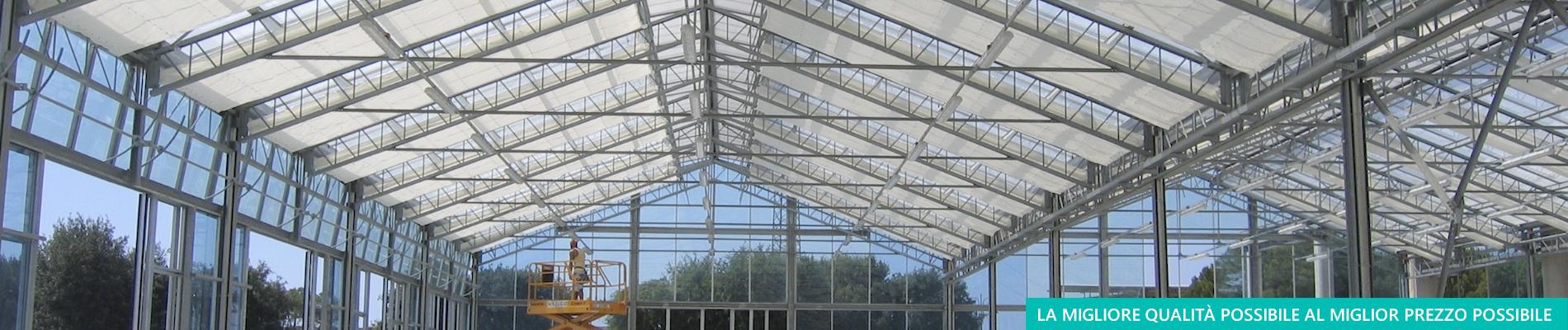 Vendita di schermi termici per colture protette - Aduno srl