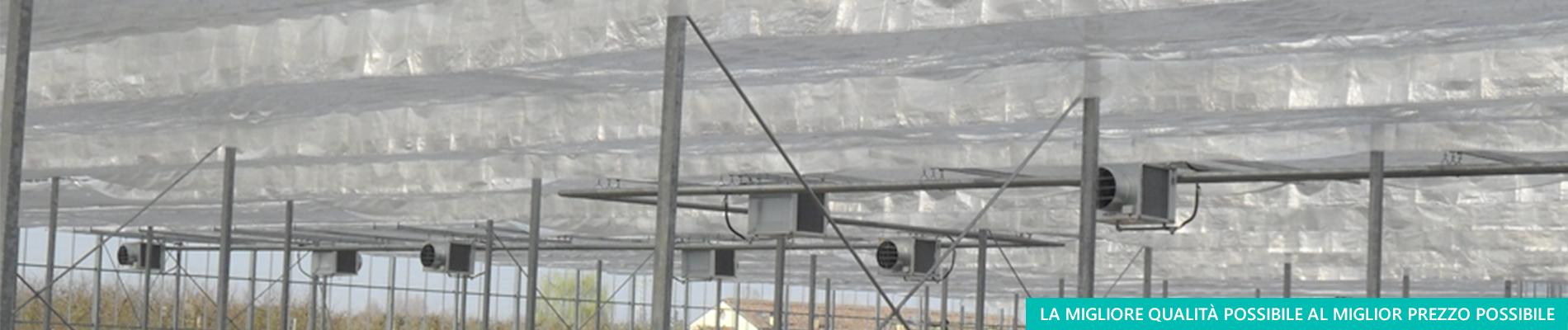 Produzione di schermi termici per ombreggio - Aduno srl